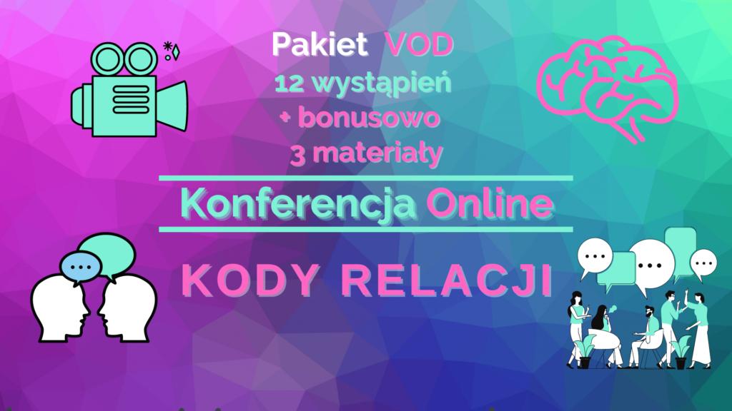 """Pakiet nagrań z 1 Edycji Konferencji """"Kody Relacji"""""""